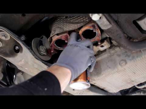 Chevrolet Epica Шевроле Эпика 2008 года Замена подушек двигателя, задняя и со стороны ГРМ