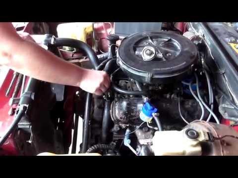 Ремонт автомобиля. Ford Granada. [Часть 5] Датчик температуры. Датчик заслонок.