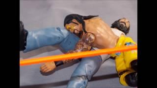 KEW Uso Super Kick And Samoa Splash To Wyatt Family Animation!!