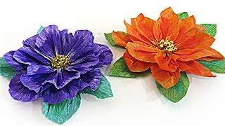 getlinkyoutube.com-Cómo hacer flores de papel. How to make paper flowers.