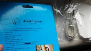 getlinkyoutube.com-W435 High Gain SMA Male Type 35dBi Antenna Signal Booster for 4G Wireless
