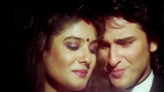 getlinkyoutube.com-Is Tarah Aashiqui Ka - Saif Ali Khan, Raveena Tandon, Imtihaan Song 2