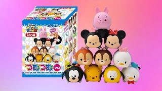 getlinkyoutube.com-10 Disney Tsum Tsum Blind Boxes | Unboxing | Ensky | twinkleToys