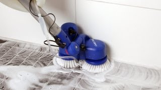 getlinkyoutube.com-Oreck Caddy Clean Twin Brush Battery Scrubber ST100200 36N090