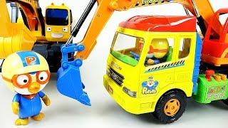 Pororo Tayo toys 뽀로로 포크레인 타요 헬로카봇 폴리 미니특공대 장난감 Pororo Tayo the little bus HeavyEquipment carToy