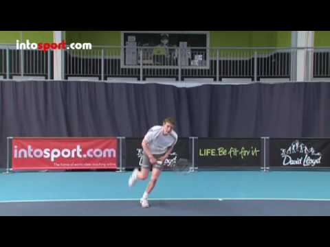 Tennis Serve - Basic Serve Technique