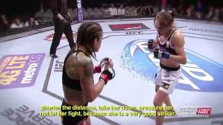 getlinkyoutube.com-Fight Night Phoenix: Cláudia Gadelha - The Art of Training