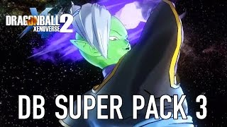 Dragon Ball Xenoverse 2 - DB Super Pack 3 Gameplay