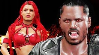 getlinkyoutube.com-WWE 2k16 My Career Gameplay Ep. 5 - New Girlfriend! Ending a Heated Rivalry
