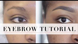 getlinkyoutube.com-Simple Eyebrow Tutorial | Shanice Swank