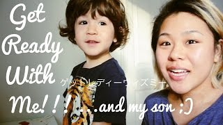 getlinkyoutube.com-(English Vlog)Get Ready With Me!!!..and my son(^^)