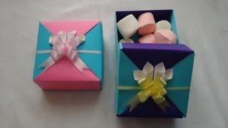getlinkyoutube.com-Cajita de origami | PumitaNegraArt🐾