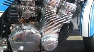 HOW TO POLISH AN ALUMINUM ENGINE.
