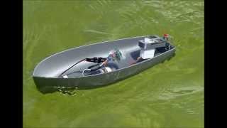 Fully Printed Small Motor Boat