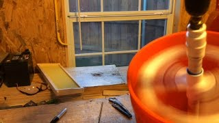 getlinkyoutube.com-Beekeeping - DIY Honey Spinner/Extractor!