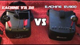 getlinkyoutube.com-EACHINE VR D2 Vs The Eachine EV800 FPV Goggles Comparison