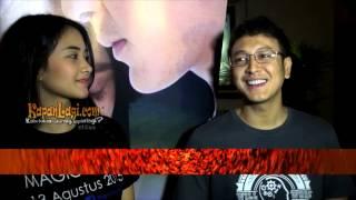getlinkyoutube.com-Beradegan Ciuman, Kekasih Dimas Anggara Cemburu?