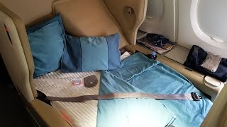 getlinkyoutube.com-Singapore Airlines Business Class A380: SQ Part 3