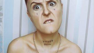 getlinkyoutube.com-Die Antwoord Ninja makeup tutorial by Anastasiya Shpagina