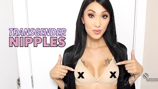 getlinkyoutube.com-Transgender Nipples/Areola Growth