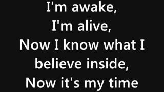 getlinkyoutube.com-Skillet - Awake and Alive (lyrics)