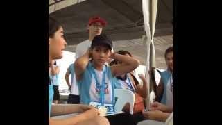 getlinkyoutube.com-สามสาวน่ารักมากๆ ญาญ่า-คิมเบอร์ลี่-มาร์กี้ งาน Laurier Go Girl Mini Marathon
