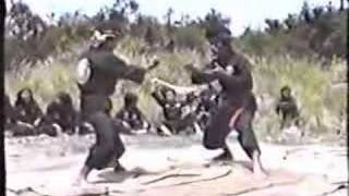getlinkyoutube.com-Pencak silat Jati Wisesa (West Java) - golok (men)