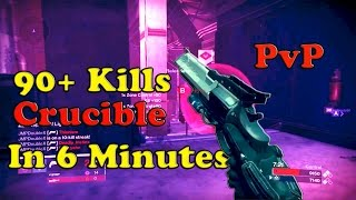 getlinkyoutube.com-Destiny  90+ Crucible Kills In 6 Minutes - Montage lol