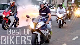 getlinkyoutube.com-BEST OF BIKERS 2016 - Street Motorcycles Wheelies, Burnouts RL & LOUD exhausts!