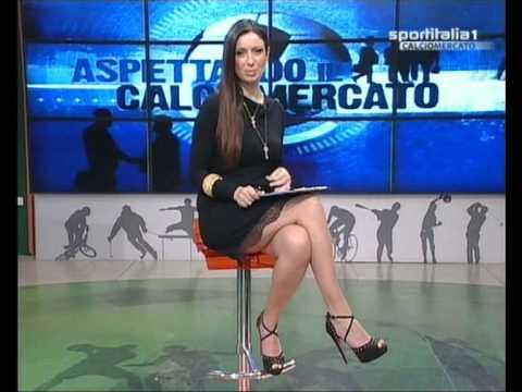 Monica Bertini Aspettando Calciomercato 31 Maggio 2013