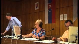 Zastupiteľstvo Lučenec 18.6.2015