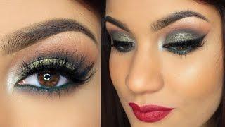 getlinkyoutube.com-Maquillaje para Fiesta de Navidad | AbrilDoesMakeup ♡