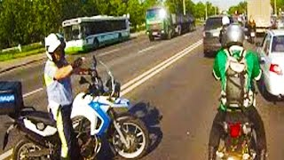 getlinkyoutube.com-Awesome! Best Police Vs Motorcycles Chase EPIC Funny Fail & Crash Compilation 2015