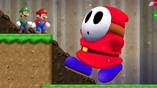 Newer Super Mario Bros Wii Co-Op Walkthrough - Sakura Village