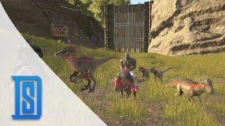 getlinkyoutube.com-Ark Survival Evolved - Season 2-45- Into Battle We Ride!
