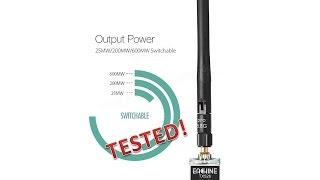 getlinkyoutube.com-Eachine TX526 5.8G 40CH 25MW/200MW/600MW Switchable