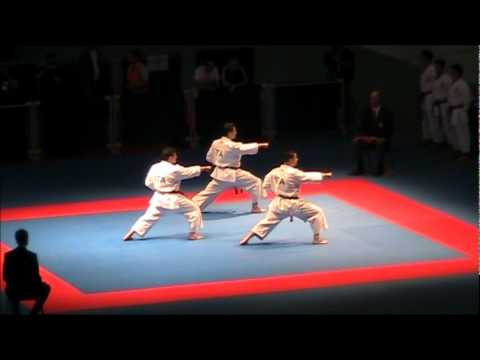 Kata + Bunkai GANKAKU by ITALY - FINAL 46th EKF European Karate Championships