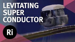 getlinkyoutube.com-Levitating Superconductor on a Möbius strip