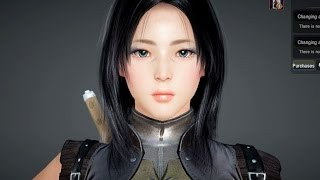 getlinkyoutube.com-Black Desert Online - Kunoichi (Ninja/Assassin) - Character Creation