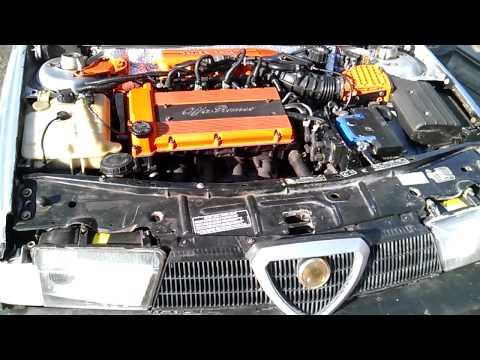 Работа двигателя Alfa Romeo 1.8 TS
