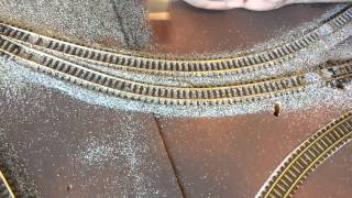 getlinkyoutube.com-How to Ballast N Gauge