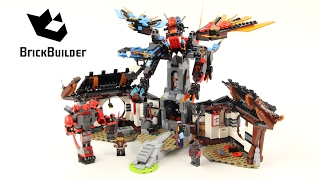 Lego Ninjago 70627 Dragon's Forge - Lego Speed build
