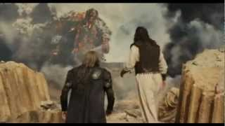 getlinkyoutube.com-Wrath of the titans Kronos fight - Zeus and hades fight together