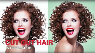 getlinkyoutube.com-How to Cut Out Hair in Photoshop
