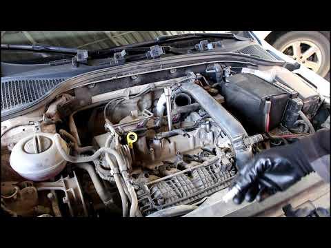 Skoda Octavia 1,2 турбо Шкода Октавия 2013 года Замена свечей зажигания