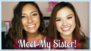 getlinkyoutube.com-Meet My Sister! The Sister Tag ♥ The Beauty Breakdown