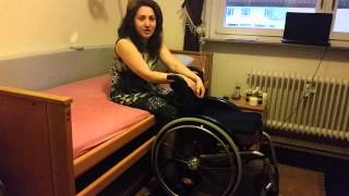 getlinkyoutube.com-Complete Paraplegic Woman Gets Up On Her Own For the First Time in 15 Years!