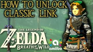 getlinkyoutube.com-HOW TO PLAY AS CLASSIC LINK IN LEGEND OF ZELDA: BREATH OF THE WILD! [Amiibo Rewards Showcase]
