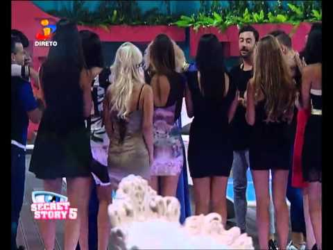 Vídeos Secret Story 5 Rita Pereira abandona a CASA  Secret Story 5  TVI  Site Secret Story 5