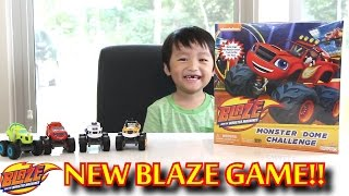 getlinkyoutube.com-Blaze and the Monster Machines Monster Dome Challenge Game